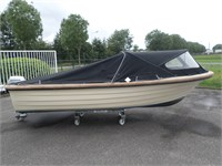 NIEUW BINNEN: Marfish 510 Playa met Honda 10pk €6750,-