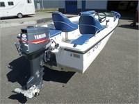 Yamaha 30pk autolube met powertrim €1550,-