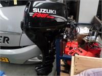 Suzuki 15pk 4-takt langstaart op afst.bediening € 1950,-